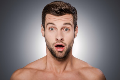 Surprised guy Shutterstock